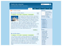Template Blog (UTF-8) – thumbnail