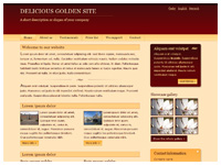 Template Delicious – Golden – thumbnail