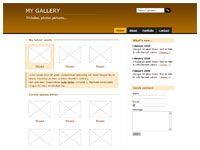 Template Gallery brown – thumbnail
