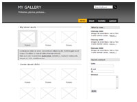 Template Gallery gray – thumbnail