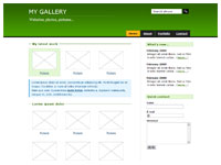 Template Gallery green – thumbnail