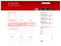 Template Gallery red – thumbnail