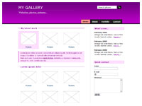 Template Gallery violet – thumbnail